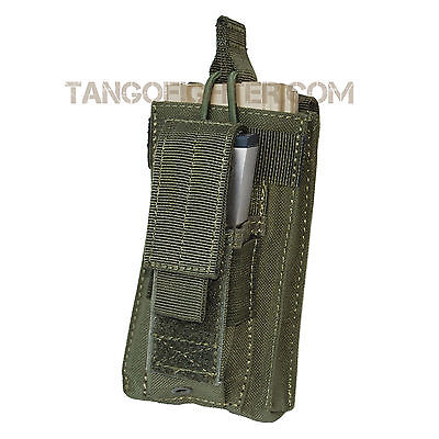 CONDOR MA50 MOLLE 5.56 mm pull tab + Pistol Single Kangaroo Mag Pouch OD