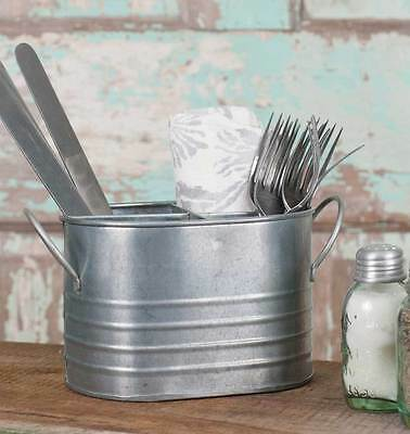 Small Oval Utensil Caddy (1) By Colonial Tin Works