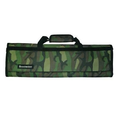 Knife Roll Bag, 8 Pocket, Camouflage Green & Brown, Messermeister, Knives / Chef