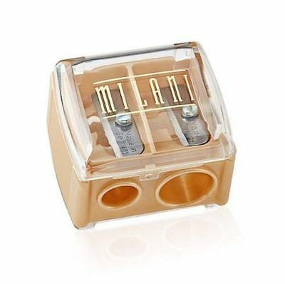 NEW MILANI DUO SHARPENER WITH COVER-Jumbo & Regular-Pencils-Milani Australia