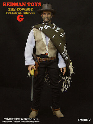 """1/6 REDMAN TOY -The Cowboy The Good 12"""" Action Figure RM007 G Collective Model"""