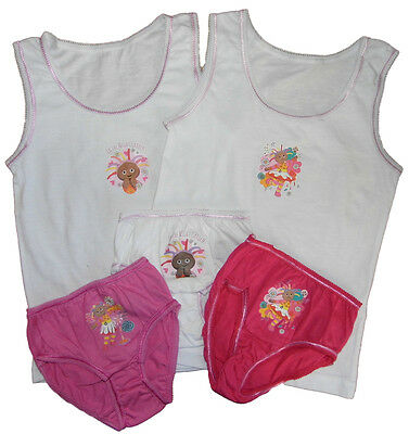In the Night Garden Vests and Pants Upsy Daisy or Iggle Piggle 18-24m 2-3y 3-4y