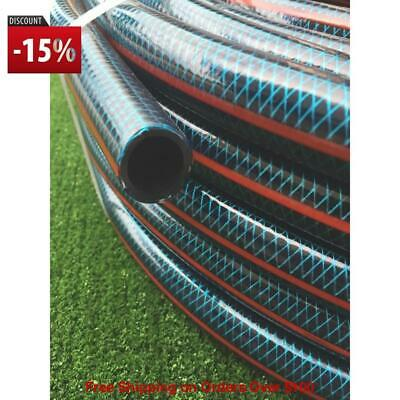 """100M Flexible UV 18MM Garden Water Hose 8/10 Kink Free 3/4"""" Free Delivery 5 Days"""