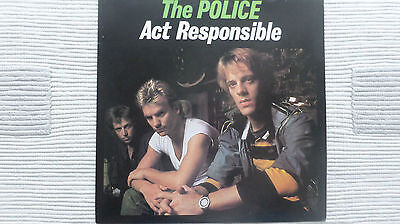The Police - Act Responsible (Very Rare) Unofficial Promo