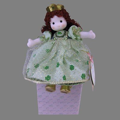 Handcrafted Musical Storybook Doll, IRISH PRINCESS, When Irish Eyes Are Smiling