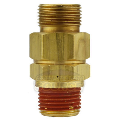 "CA-12 Load Genie Brass Air Compressor 1/2"" x 3/8"" Self Unloading Check Valve New"