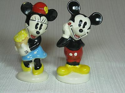 Disney Mickey and Minnie Mouse Salt and Pepper Set by Treasure Craft