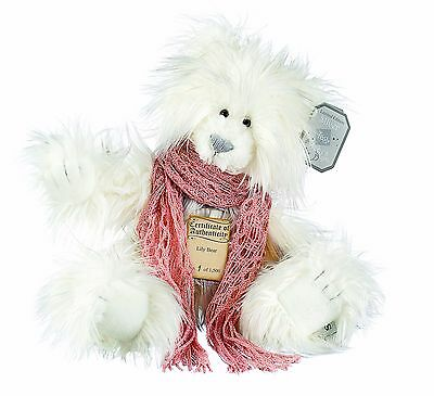 Silver Tag 4 Lily Bear Collectible Limited Edition Teddy from Suki
