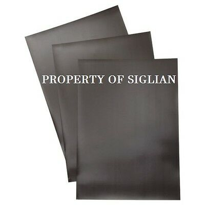 """DOUBLE SIDED MAGNETIZED Plain Flexible Magnet 30mil x 11.8"""" x 11.8"""" (5 sheets)"""