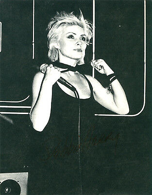 Blondie - Debbie Harry Original 1979 Official Fan Club Postcard