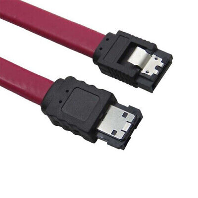 eSATA to SATA External Shielded Cable 50cm - RED
