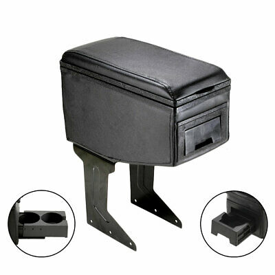 Armrest Centre Console Black Faux Leather For Opel Zafira Combo Cargo Combo Tour