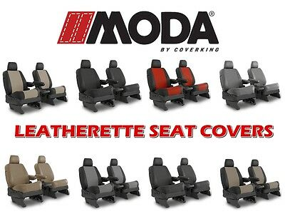 COVERKING SYNTHETIC LEATHER CUSTOM FIT SEAT COVERS FRONTS for CHEVY CAVALIER
