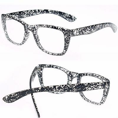 Square Square Frame Clear lens Glasses Fashion or Fancy Dress