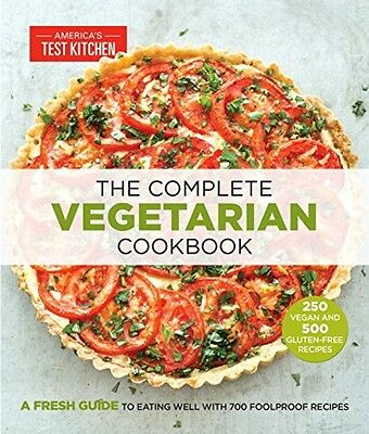 The Complete Vegetarian Cookbook, New, Free Shipping