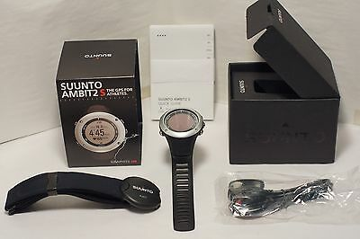 Suunto AMBIT2 Graphite HR SS019208000 GPS Fitness Watch with Heart Rate Monitor