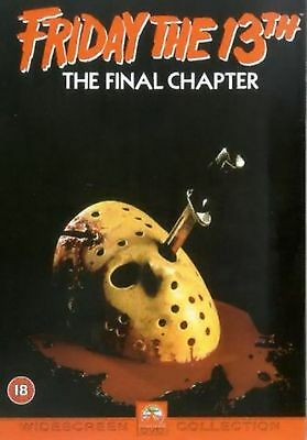 Friday The 13th - Part 4 - The Final Chapter (DVD, 2002) Kimberley Beck New