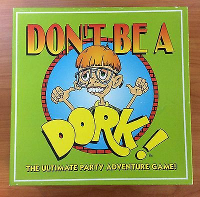 1997 Board Game - Don't Be A Dork! -  100% Complete