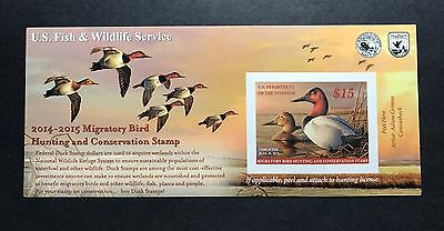 #RW81A 2014 - 2015 - US Federal Duck Stamp - Post Office FRESH