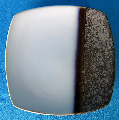 Plate, Salad CURVED Square SANGO SATIN BLACK 4770 White Black Gray Blue