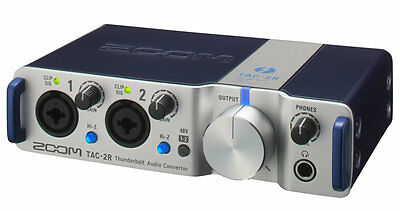 Zoom Tac2R - Interfaccia Audio Thunderbolt 2 In / 2 Out