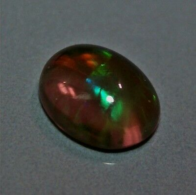 Opale noire d'Ethiopie 1.43ct VIDEO Welo black opal Honeycomb éthiopienne Wello