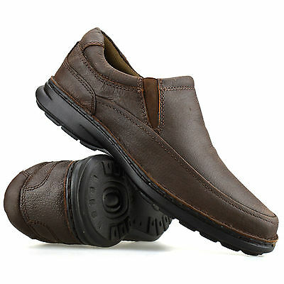 Mens Leather Casual Smart Slip On Moccasin Loafers Walking Driving Shoes Size