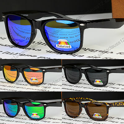 Polarized Square Shape Sunglasses Classic size UV400 Womens Mens
