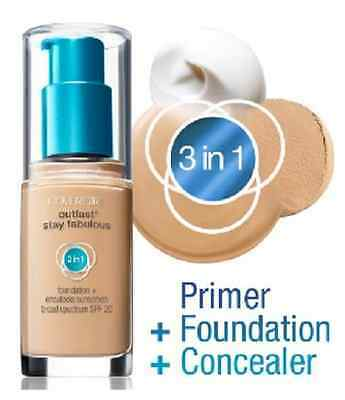 Covergirl Outlast Stay Fabulous 3-in-1 Foundation, You Choose!