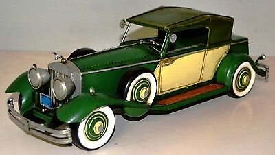 RR Phantom um 1932 Blechauto Blechmodell Tin Model Vintage Car ca. 34 cm 37504