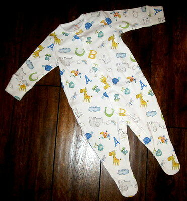 New unisex baby boys girls sleepsuit ex nxt newborn 0-3 3-6 6-9 9-12 12-18 18-24