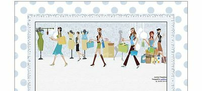 Ladies Shopping at the Boutique eBay Auction Template