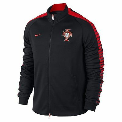 NIKE CR7 PORTUGAL AUTHENTIC N98 TRACK JACKET Black/Challenge Red