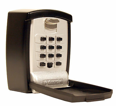 Lot of 2 Secure Wall Mount  key lock boxes ShurLok supra real estate push button