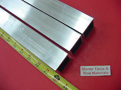 "3 Pieces 1-1/2""x 1-1/2""x 1/8"" Wall x 48"" Long ALUMINUM SQUARE TUBE 6063 T52"