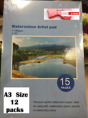 A3 Watercolour Paper Art Artist Sketch Pad Journal Drawing Painting BULK SALE