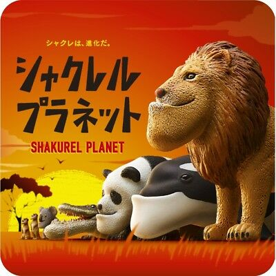 Takara Tomy Panda's ana Shakurel Planet Part1 Wild Animal Completed Set 6pcs