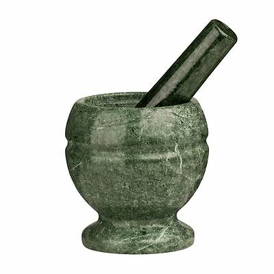 Mortar and Pestle, Green Marble