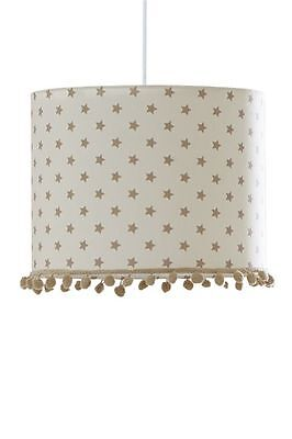 New Next Baby Boutique Generic Nursery Natural Stars Shade