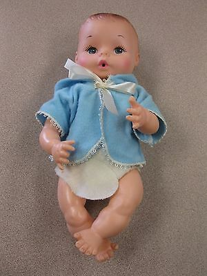 Vintage Drink & Wet Doll from Eegee Co Anatomically Correct Boy Doll FREE SHIP