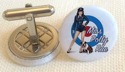Air Art Pin  Up  logo Mens Cufflinks ,Brithday  Gifts Cufflinks Mens  Cufflings