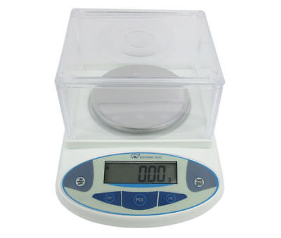 Update Digital Lab Analytical Balance Scale Jewelry scale 1mg 300 x 0.001g