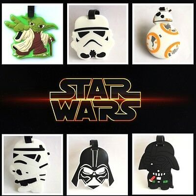 Travel Luggage Baggage School Tag Tags Name Address Suitcase Bag Label Star Wars