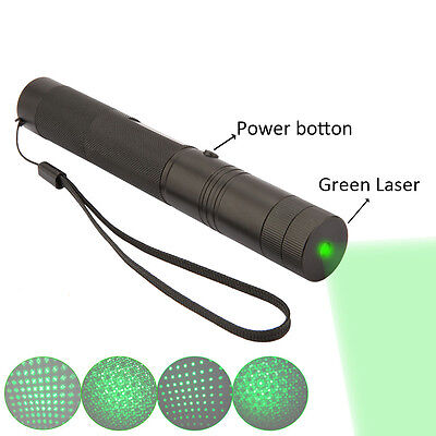 Adjustable 532nm Powerful Laser Pen Pointer 10000mw green high instantly burning