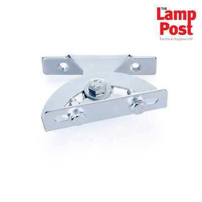 Universal Swivel Rotating Swivelling Outdoor Floodlight Fixing Bracket - KRP1SM