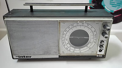 Antigua Radio Inter Am Fm Vintage Retro Antique Transistor