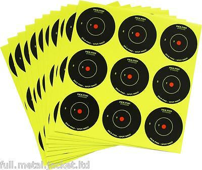 "Jack Pyke Spot Shot Targets Instant Feedback Self Adhesive 10x2"" Shooting New"