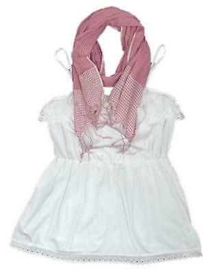 NEw XT store girls vest scarf top dress set age  2-3 3-4 4-5 5-6 6-7 7-8  years