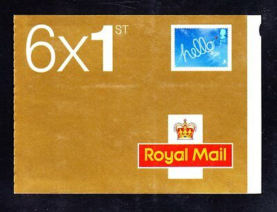GB PM8 OCCASIONS 6x1st CLASS SELF ADHESIVE BARCODE BOOKLET