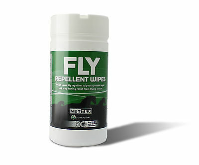 Nettex Fly Repellent Wipes 1 X 50